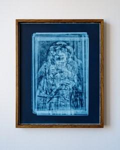 Vestige (Geisha Blue), by Jad Oakes