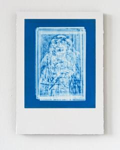 Vestige (Geisha Cerulean Blue), by Jad Oakes