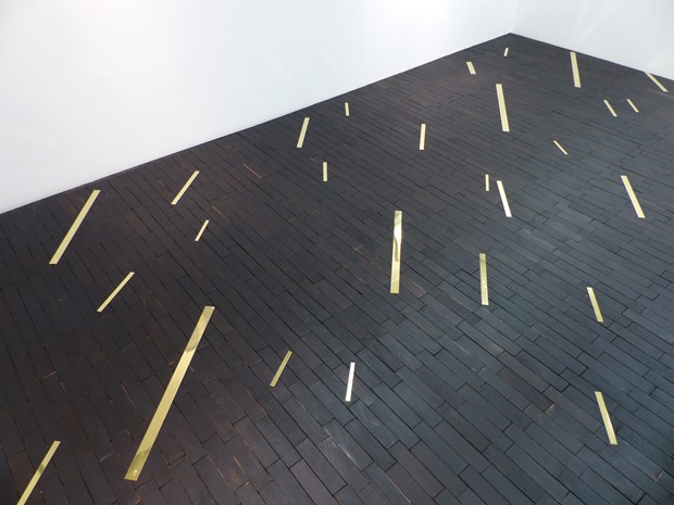 Untitled (Floor etching)
