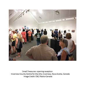 Review of 'Small Treasures' Exhibition, by Inguna Gremzde