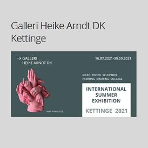 Summer Exhibition Kettinge 2021, by Inguna Gremzde