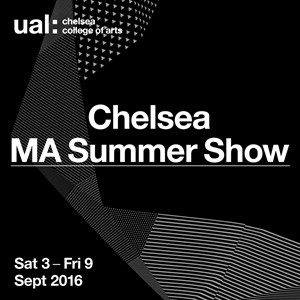 Chelsea College of Arts: MA FINE ART SUMMER SHOW, by Eldi Dundee
