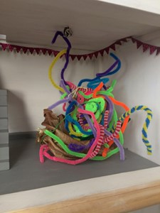 Toy-Box-Playground (Small House Gallery, 2019), by Eldi Dundee
