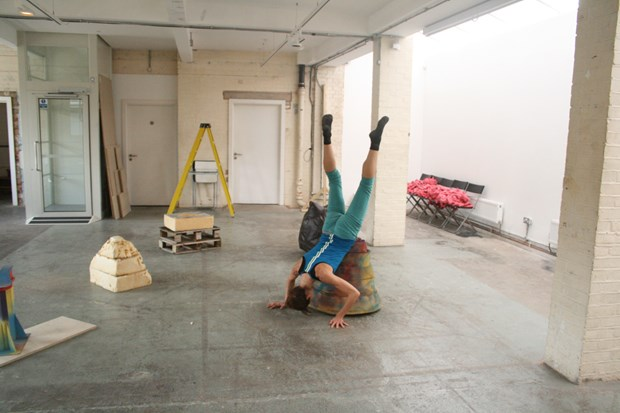 'Playful Menace' dance/sculpture R&D for Guest Projects (with Abigail Kessel) - Credit: feat. Dancer: Abigail Kessel