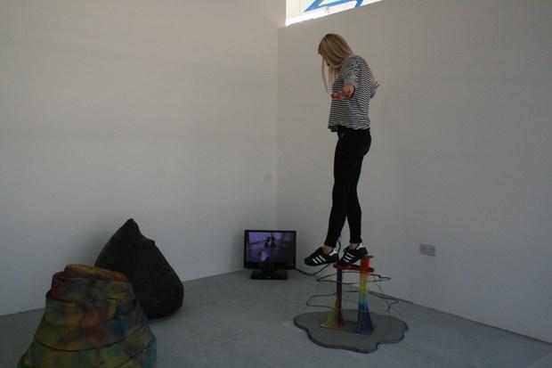 'Playful Menace' for Chelsea Salon at Penarth Studios