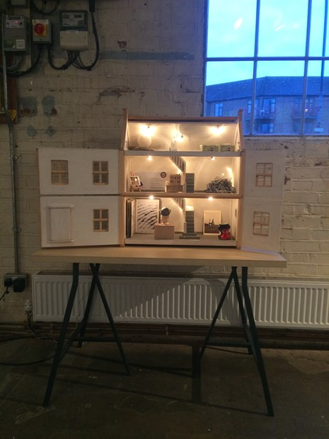 Small House Gallery: Unknowable Futures - Credit: Eldi Dundee and Small House Gallery for AltMFA at Guest Projects 2017