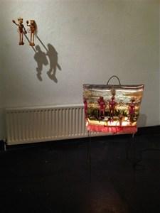 Doll-Rug-Floor-Lamp, by Eldi Dundee