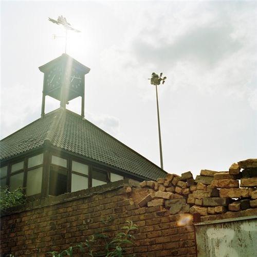 Old Fisher Tower in Surrey Docks Stadium