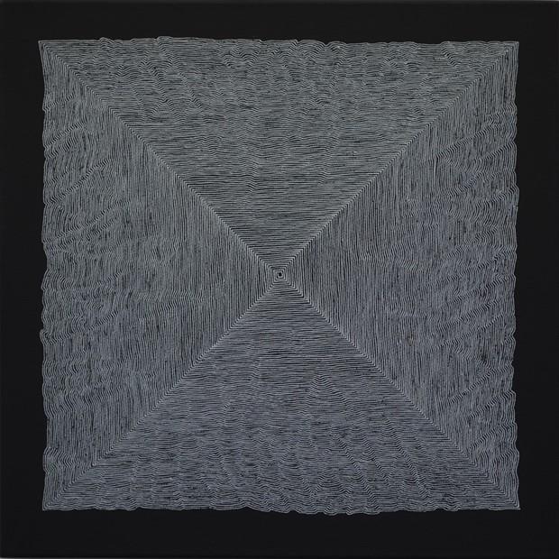 Square Spiral I (Continuum)