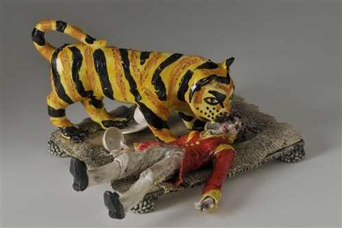 Penny Green, Never trust a tiger when taking tea., 2012