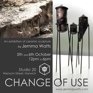 Change Of Use - An exhibition of recent ceramics by Jemma Watts, by Jemma Watts