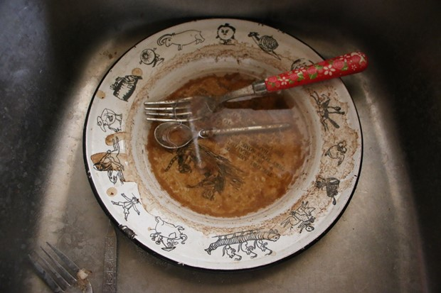 Plate, Fork and Smack Spoon