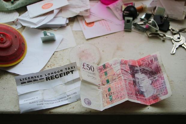 Fake 50 quid wrap