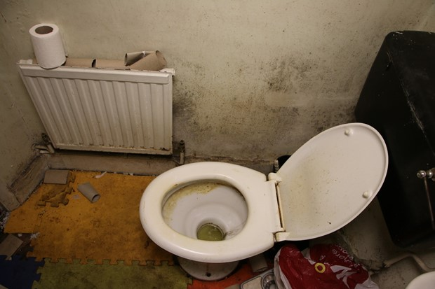Mother's toilet on the day she died