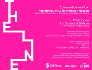 In conversation with artists Paul Huxley RA and Holly Rowan Hesson, by Holly Rowan Hesson