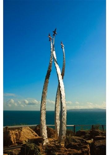 Jon Egging Memorial Sculpture