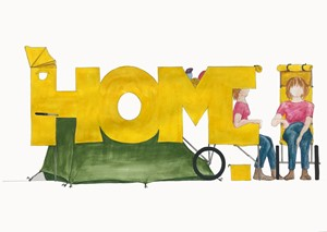 HOME-ing project receives Arts Council funding, by Harriet Hill