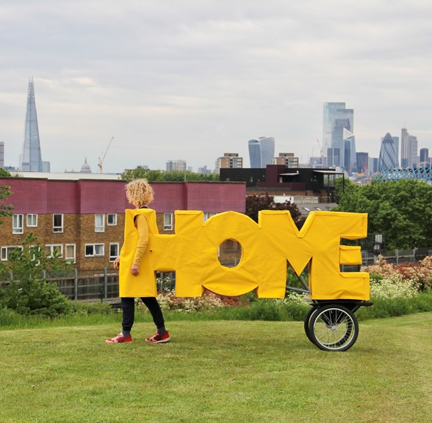 HOME-ing: a live art odyssey on foot from London to Wales