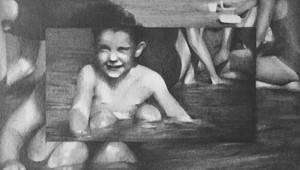 Boy Still 4 (cute boy cooling in water), by Susannah Douglas