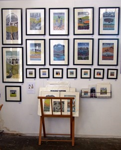 Norwich Print Fair, by Diana Ashdown