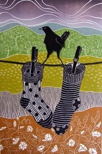 Socks, by Diana Ashdown