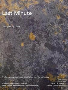 Last Minute, by Joshua Armitage