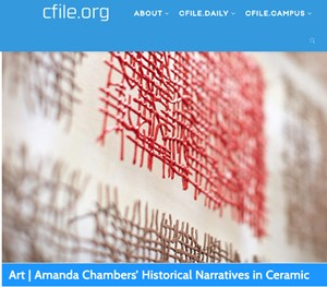CFile Daily features 'Stilboestrol', by Amanda Chambers