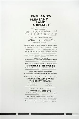 England's Pleasant Land: A Remake