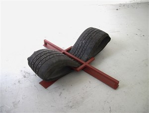 Trap of Steel - Tyre Clamp, by Durbin Lewis