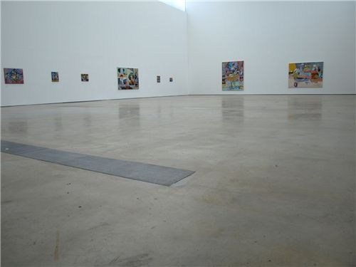 The Fold - A Painting Show (installation shot)