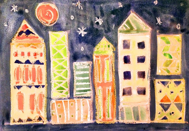 Klee's Geometric Cityscapes, by Liz Sergeant