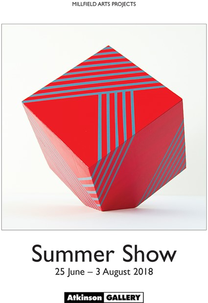 Atkinson Gallery Summer Show, by David Morgan-Davies