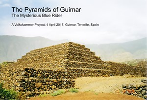 The Pyramids of Guimar, by Julian Claxton