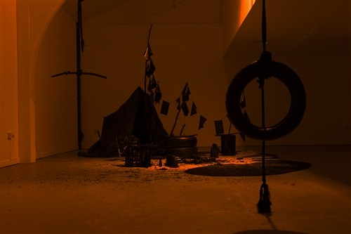 Julian Claxton, Black Camp, 2012