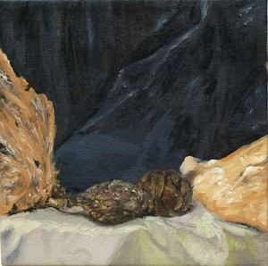 cones and driftwood, by Cherie Smith