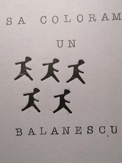 Sa coloram un Balanescu