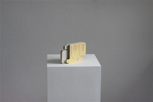Untitled (flattened pill box)
