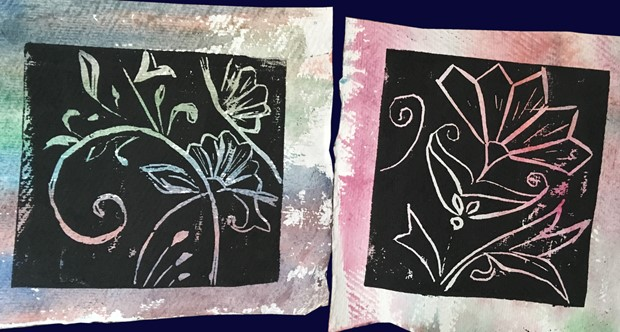 Printmaking Workshop, by Adam Grose MA PGCE RWAAN