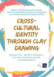 Residency: Cross-cultural identity Through Clay Drawing, by Martin Harman