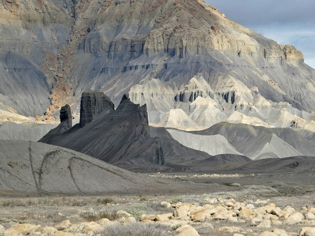 Cainville Badlands, Utah, USA