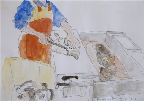 Sally booth member in london members axisweb contemporary davie filleting plaice colour shetland sciox Image collections