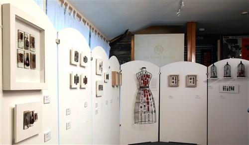 Charlotte's Dress Solo Exhibition at The Brontë Parsonage Museum