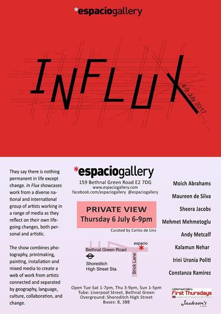 INFLUX, by Irini Urania Politi