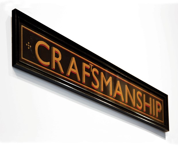 A Sign of Craftsmanship*