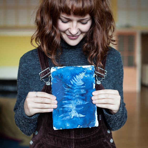 Cyanotype Leaf Printing Workshop // £40