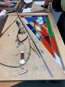 Beginners Stained Glass Short Course, by Heather Boxall