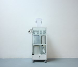 water cabinet, by Mike Gent
