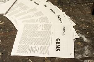 Hidden Gems Newspaper Publication