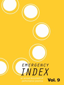 Emergency Index Volume 9, by Theresa Bradbury