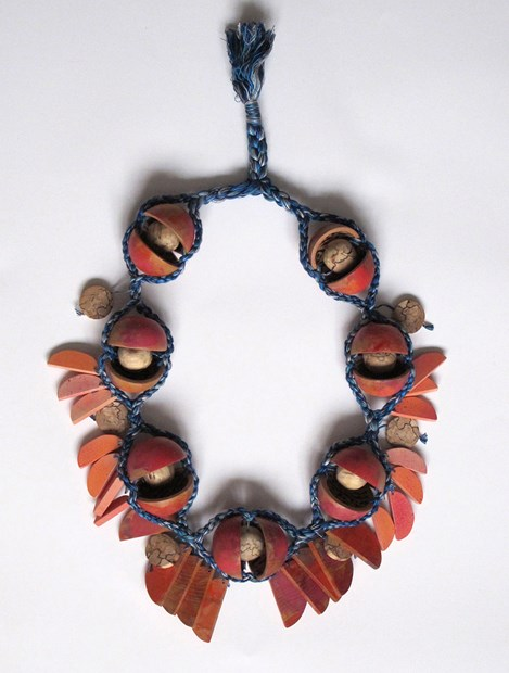 Peach Necklace (Momotaro series) - Credit: Bridget Harvey
